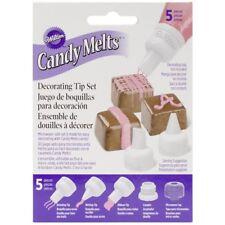 Wilton Candy Melts Icing Decoration Decorating Writing Sugarcraft Nozzle Tip Set