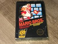 Super Mario Bros. Nintendo Nes *Box Only* *No Game* No Rev-A Hangtab Authentic