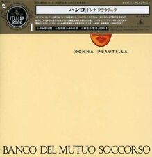 MINI LP CD VYNIL REPLICA IMPORT + OBI BANCO DEL MUTUO SOCCORSO / DONNA PLAUTILLA