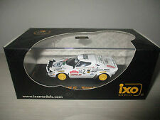LANCIA STRATOS HF WINNER RALLY SANREMO 1979 (RAC114) IXO MODELS SCALA 1:43