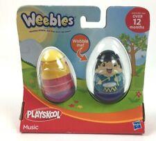 Hasbro Playskool Weebles 2-Pack - Theme:Music - Singer and Drummer