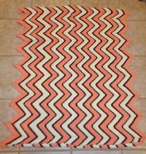NEW Hand Crocheted Baby Infant Toddler Crib Afghan Blanket 40 x 36
