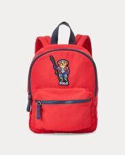 Ralph Lauren Polo Ski Bear Backpack Red Patch Boys Girls Sport Skiing Winter Bag