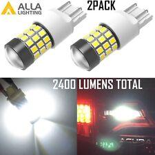 Alla Lighting 6000K 7440 Back Up Light Bulb,Brake,Turn Signal Blinker Lamp White