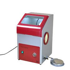 ST 110V Dental Fine Blasting Unit Sand Blaster Lab Equipment LED Light Dry Dust