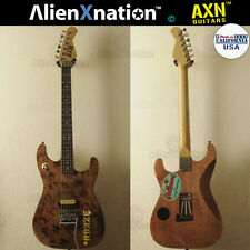 AXN™ Model 2 Tiger Custom Boutique Burnt Guitar Korina Neck USA