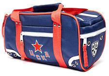 HC CSKA Moscow Travel Toiletry Hockey Bag Shaving Dopp Kit, durable polyester