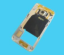 Genuine Samsung Galaxy S6 EDGE Chassis housing frame Bezel  G925F Gold Coloured
