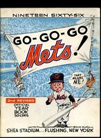 NEW YORK METS 1966 BASEBALL YEARBOOK 2ND REVISED EDITION
