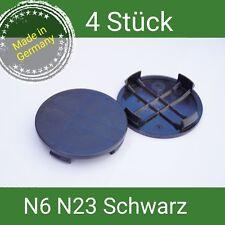 N6 / N23  schwarz Nabenkappen  Felgendeckel 60 mm Rial Alutec ATS 4 St.