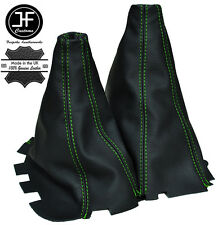 GREEN STICH MANUAL GEAR & HI LOW LEATHER GAITERS FOR MITSUBISHI L200 2006-2010