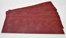 Drum Sander 75mm Spare sanding sheets pack of 5, burnisher, leather sand paper