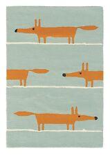 EUR 140,70/qm / Teppich Scion Mr Fox Aqua 25308 Mr.Fox / 90 cm x 150 cm