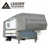 New Easy Setup 5th Wheel Cover Fits RV 37'-41' with Assist Poles