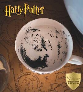 Harry Potter Divination Tea Leaves Tea Cup, GRIM, Wizarding Trunk RARE, Hogwarts