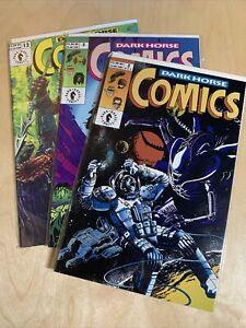 Dark Horse Comics Presents #3 #5 #12 NM Time Cop Indiana Jones Aliens Predator