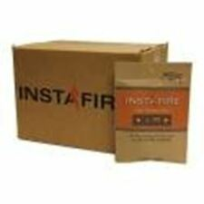 Instafire Charcoal Briquette Starter Pouches, Burnable Packs, No Harmful Chemica