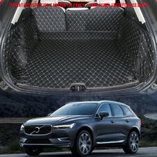 for Volvo XC60 2018 2019 Leather Accessorie Rear Boot Cargo Trunk Mats Pad 1set