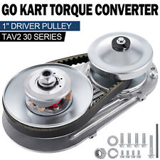 "Go Kart Clutch Torque Converter 1"" 10T+12T Manco Comet TAV2 Mini Bike 30 Series"