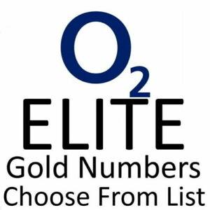 o2 ELITE UK GOLD VIP BUSINESS EASY MOBILE PHONE NUMBER DIAMOND PLATINUM SIM CARD