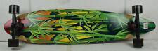 "BLEM PARADISE Longboard Rasta Bamboo 9.5"" x 39.5"""
