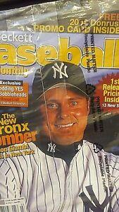 Beckett Baseball Card Monthly Jason Giambi March 2002 Plus Tiger Woods card
