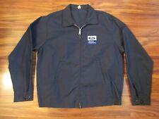 Vintage Blue FORD TRACTORS EQUIPMENT Light Work Jacket - Large
