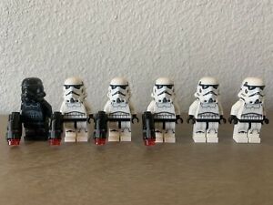 6x STORMTROOPERS - Lego Star Wars 75262 Imperial Dropship 20th Anniversary