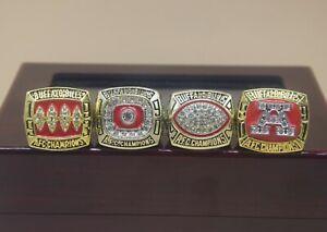 4 Pcs 1990 1991 1992 1993 Buffalo Bills Championship Ring //