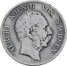 Sachsen 2 Mark 1876 E Albert J.121 (M137)