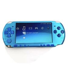 Sony PSP-3000 Vibrant Blue Handheld Console With Brand New Shell Case