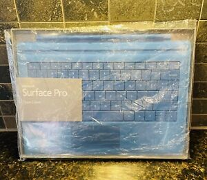 Microsoft Surface Pro Type Cover Keyboard for Pro 3, 4, 5, 6 - Blue