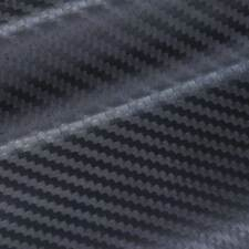 """5FT x10FT 120"""" x 60"""" 3D Carbon Fiber Vinyl Wrap Sticker Air Release Bubble Free."""