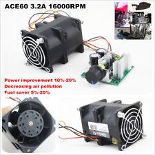 DIY Electric turbine supercharger Boost Intake Fan CAR Turbo SAN ACE40 1A DC12V
