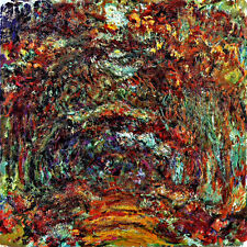 Claude Monet Rose Arches  canvas print giclee 8.3X8.3 reproduction art poster