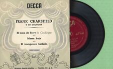 FRANK CHAKSFIELD / Terry Song, Candilejas DECCA BEP 6.128 Pres Spain 195? EP EX
