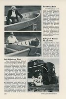 1952 Compare New Pennsylvania Railroad Locomotive to Tiny Mine Car GE PRR