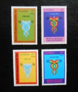 Sambia 1981 - Weltfernmeldetag, komplett, postfrisch (**)