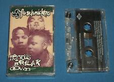 Fu Schnickens Cassette Tape Nervous Breakdown 1994 Zomba Jive Hip Hop Rap USED