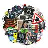 Hackers Stickers Graffiti Programming Sticker For Luggage Laptop Motorcyc 50Pcs
