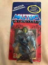 Motu Masters of the Universe Skeletor 1988 Spanish Promo OVP MOC  Carded
