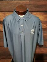Footjoy Mens 2XL XXL Blue White Checkered Short Sleeve Golf Polo Shirt NWOT