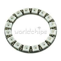 2PCS WS2812B 5050 RGB LED Ring 16Bit RGB LED + Integrated Driver 45mm forArduino