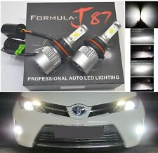 LED Kit N2 72W 9004 HB1 6000K White Two Bulbs Head Light Replace High Low Beam