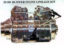 Mount your dual carburetors inline using R trick blower supercharger linkage kit