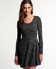 Womens Superdry Dresses Various Styles & Colours AC - Essential Black Twist S