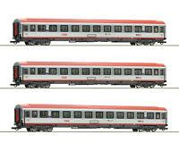 """Roco H0 74132 Wagenset """"Regionalexpress Innsbruck-Bozen"""" der ÖBB 1:87 NEU + OVP"""