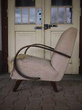 vintage lounge halabala chair 1950's