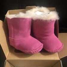 Infant Girl Pink Ugg Boots Size 0/1c