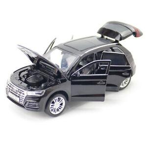 1:32 Audi Q5 SUV Model Car Diecast Alloy Gift Toy Vehicle Kids Sound Light Black